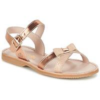 Schoenen Meisjes Sandalen / Open schoenen Citrouille et Compagnie GOGOGATO Brons