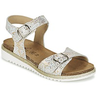 Schoenen Meisjes Sandalen / Open schoenen Citrouille et Compagnie GAUFRETTE Goud