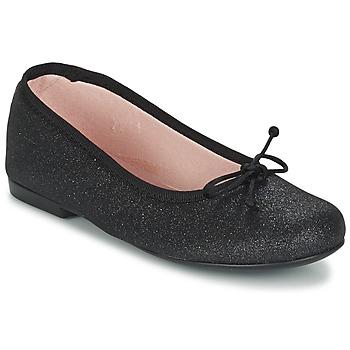 Schoenen Meisjes Ballerina's Citrouille et Compagnie GLIGLO Zwart / Pailleté