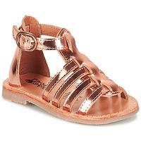 Schoenen Meisjes Sandalen / Open schoenen Citrouille et Compagnie JASMA  Cuivré