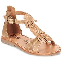 Schoenen Meisjes Sandalen / Open schoenen Citrouille et Compagnie GAMELA  camel