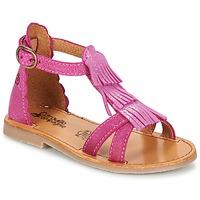Schoenen Meisjes Sandalen / Open schoenen Citrouille et Compagnie GAMELA Roze