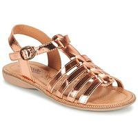 Schoenen Meisjes Sandalen / Open schoenen Citrouille et Compagnie GROUFLA Brons