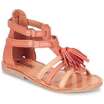 Schoenen Meisjes Sandalen / Open schoenen Citrouille et Compagnie GOFARO Orange