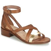 Schoenen Dames Sandalen / Open schoenen Casual Attitude GILDAS  camel / Goud