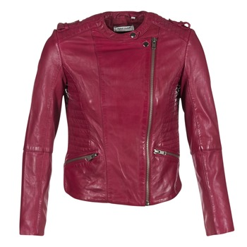 Textiel Dames Leren jas / kunstleren jas Naf Naf CRISCA Bordeaux