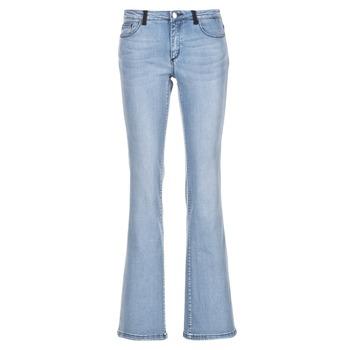 Textiel Dames Bootcut jeans Naf Naf GALY Blauw / Clair