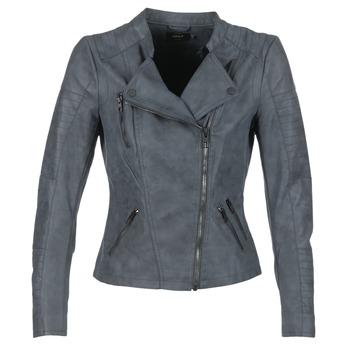 Textiel Dames Leren jas / kunstleren jas Only AVA Marine
