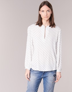 Textiel Dames Tops / Blousjes Only NELLY 7/8 Wit