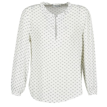 Textiel Dames Tops / Blousjes Only NELLY 7/8 Wit