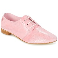 Schoenen Dames Derby Betty London GEZA Roze