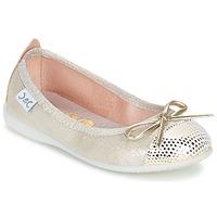 Schoenen Meisjes Ballerina's Citrouille et Compagnie GRAGON Beige / Pailleté