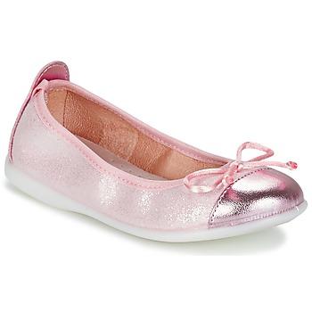 Schoenen Meisjes Ballerina's Citrouille et Compagnie GRAGON Roze / Pailleté