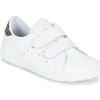 Schoenen Meisjes Lage sneakers Citrouille et Compagnie GRANOU Wit / Paillettes