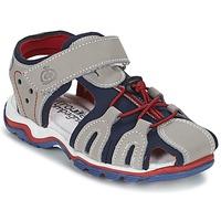 Schoenen Jongens Sandalen / Open schoenen Citrouille et Compagnie GUFUMO Grijs