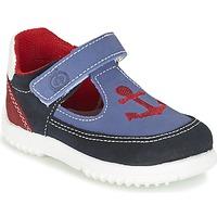 Schoenen Jongens Sandalen / Open schoenen Citrouille et Compagnie GANDAL Blauw / Rood