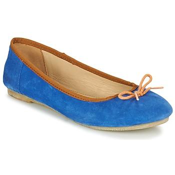 Schoenen Dames Ballerina's Kickers BAIE Blauw / Orange