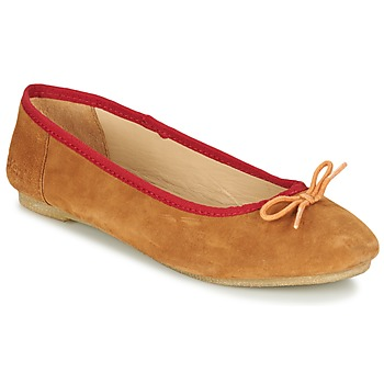 Schoenen Dames Ballerina's Kickers BAIE Brown / Clair / Orange