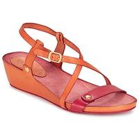 Schoenen Dames Sandalen / Open schoenen Kickers TASTE Orange / Rood