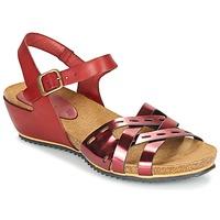 Schoenen Dames Sandalen / Open schoenen Kickers TOKANNE Rood / Métalisé