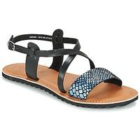 Schoenen Dames Sandalen / Open schoenen Kickers VIPA Zwart