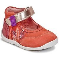 Schoenen Meisjes Ballerina's Kickers BIMAMBO Orange /  fuchsia / Roze