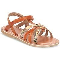 Schoenen Meisjes Sandalen / Open schoenen Kickers FARAH  CAMEL