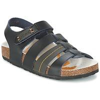 Schoenen Jongens Sandalen / Open schoenen Kickers MAGITEAM Zwart