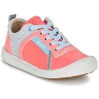 Schoenen Meisjes Lage sneakers Kickers ZIGUY CORAIL / Blauw