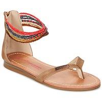 Schoenen Meisjes Sandalen / Open schoenen Les Tropéziennes par M Belarbi GINKGO Brown