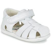 Schoenen Jongens Sandalen / Open schoenen Pablosky NETROLE Wit