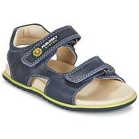 Schoenen Jongens Sandalen / Open schoenen Pablosky GARMINOUTE Blauw