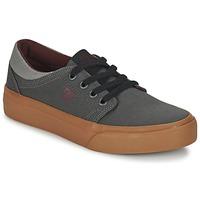 Schoenen Kinderen Lage sneakers DC Shoes TRASE TX B SHOE XSSR Grijs / Rood