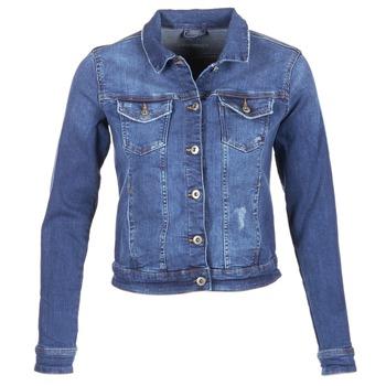 Textiel Dames Spijker jassen Esprit CROVETTA Blauw / Medium