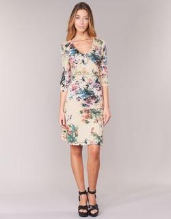 Textiel Dames Korte jurken Cream ROSEMARY Multikleuren