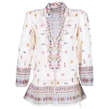 Textiel Dames Tunieken Derhy DETENTE Ecru