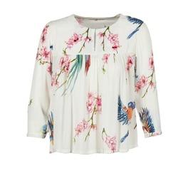 Textiel Dames Tops / Blousjes Derhy DIGNE Ecru