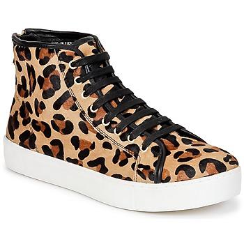 Schoenen Dames Hoge sneakers North Star BEID Leopard