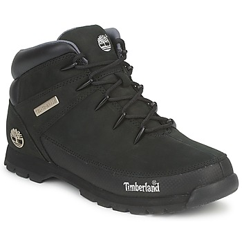 Schoenen Heren Laarzen Timberland EURO SPRINT HIKER Zwart