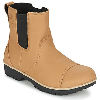 Schoenen Dames Laarzen Sorel MEADOW CHELSEA Zwart