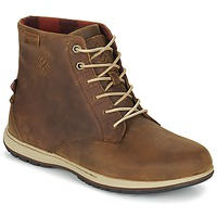Schoenen Heren Laarzen Columbia DAVENPORT SIX WATERPROOF LEATHER Elk, / Buro