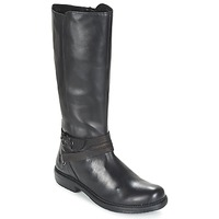 Schoenen Dames Laarzen Kickers MOTCAST Zwart
