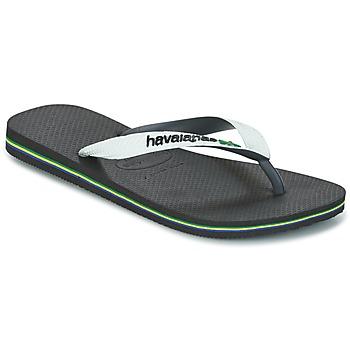 Schoenen Slippers Havaianas BRASIL MIX Wit / Zwart