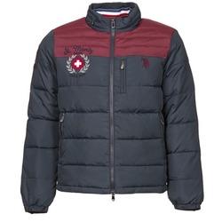 Textiel Heren Dons gevoerde jassen U.S Polo Assn. ST.MORITZ Marine / Bordeaux
