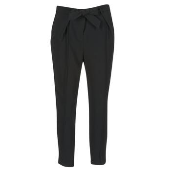 Textiel Dames Losse broeken / Harembroeken Morgan LIKI Zwart
