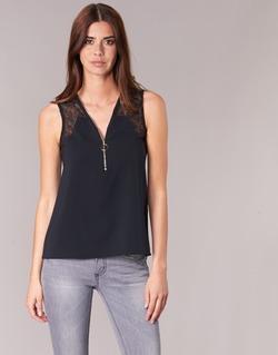 Textiel Dames Tops / Blousjes Morgan OBLOW Zwart