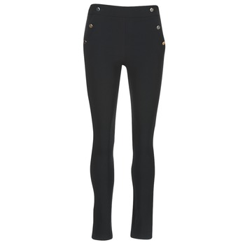Textiel Dames 5 zakken broeken Morgan PSHAPA Zwart