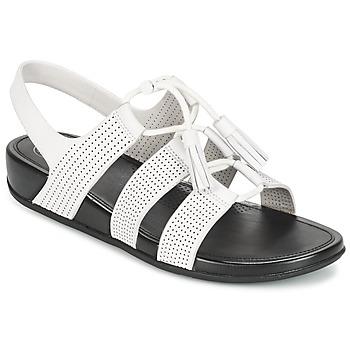 Schoenen Dames Sandalen / Open schoenen FitFlop GLADDIE LACEUP SANDAL Wit