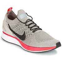 Schoenen Dames Lage sneakers Nike AIR ZOOM MARIAH FLYKNIT RACER PREMIUM W Grijs / Roze