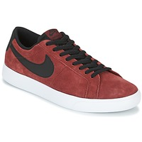 Schoenen Heren Lage sneakers Nike BLAZER VAPOR LOW SB Bordeaux / Wit
